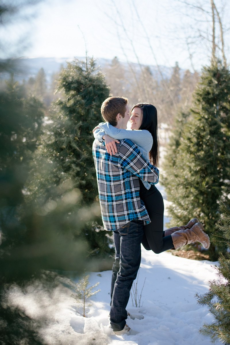 Engagement Photography Volkmanm Tree Farm Kelowna (15)