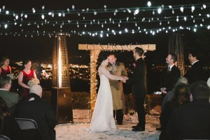 Kelowna winter wedding