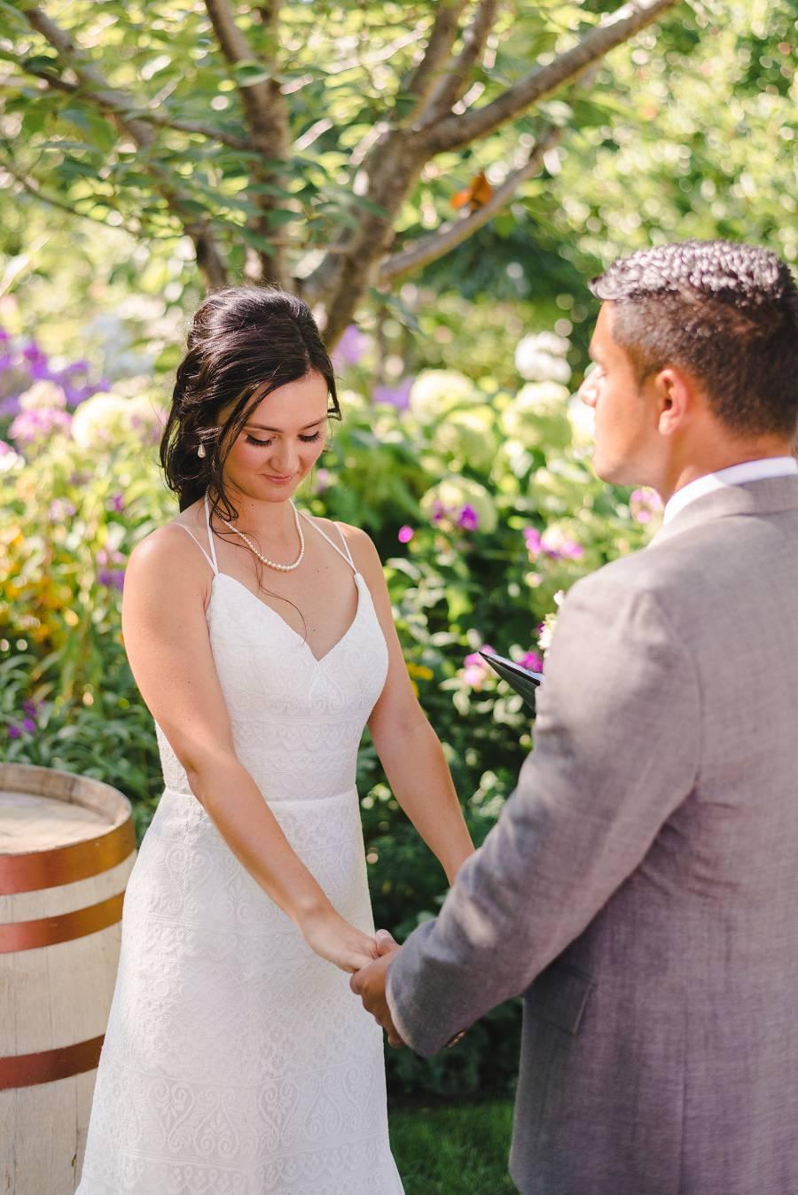 wedding at Linden Gardens, Kaledon BC