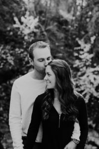 Mill creek park engagement photography,